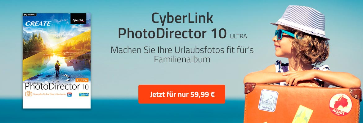 CyberLink PhotoDirector 10