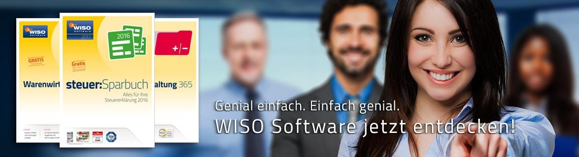 WISO Software, EINFACH UND GENIAL.