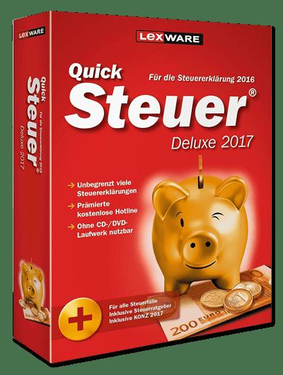 QuickSteuer 2017 Deluxe