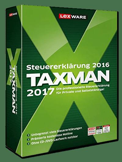 Lexware Steuer-Software TAXMAN 2017