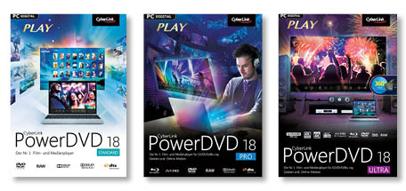 Media Player PowerDVD von CyberLink