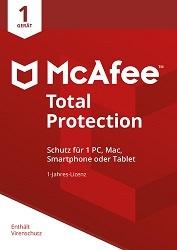 McAfee Total Protection 1 Gerät 12 Monate kaufen