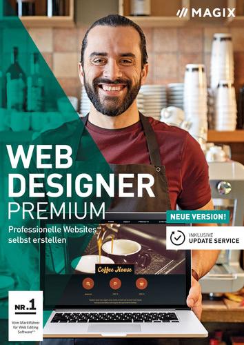 Platz 2: MAGIX Web Designer Premium