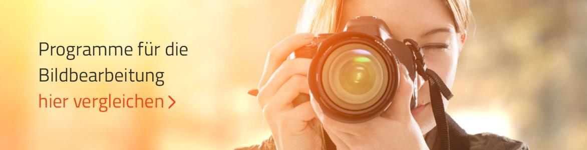 Software Vergleiche: Bildbearbeitungsprogramme Vergleich
