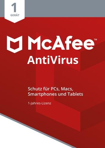 Testsieger im Antivirenprogramm Vergleich: McAfee AntiVirus