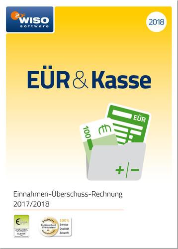 Platz 2 im Buchhaltungssoftware Vergleich: WISO EÜR & Kasse 2018