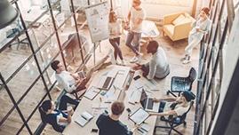 Teamarbeit Software as a Service