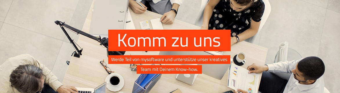 Karriere | mysoftware.de