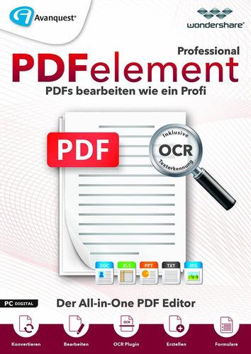 Platz 4: Wondershare PDFelement 6.5 Professional inkl. OCR Texterkennung