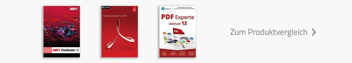 PDF Software | Zum Produktvergleich