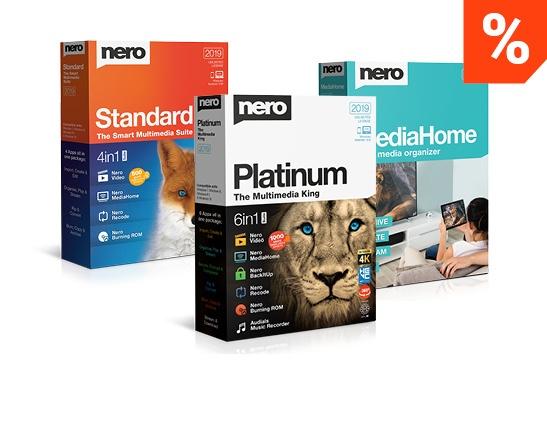 Nero Multimedia Suite Vergleich