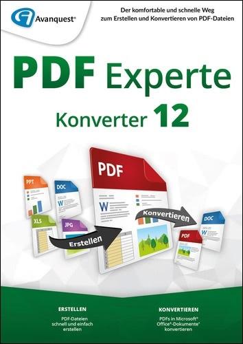Avanquest PDF Experte 12 Konverter