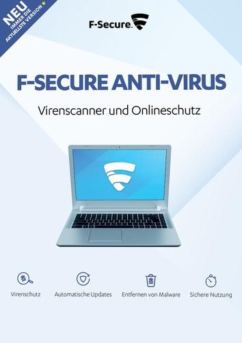 Platz 5 im Antivirenprogramm Vergleich: F-Secure Anti-Virus