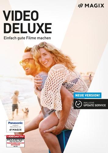 Platz 3 im Videobearbeitungssoftware Vergleich Magix Video Deluxe