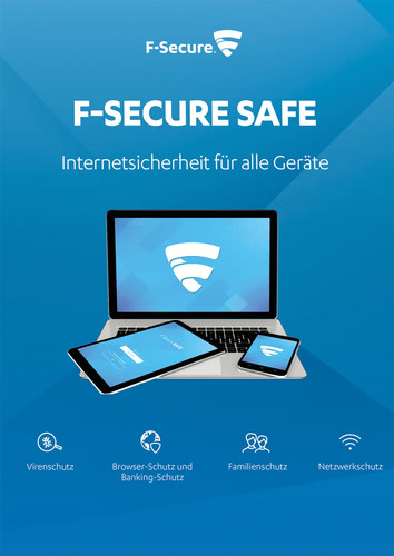 Platz 4 im Internet Security Vergleich: F-Secure SAFE Internet Security 2018