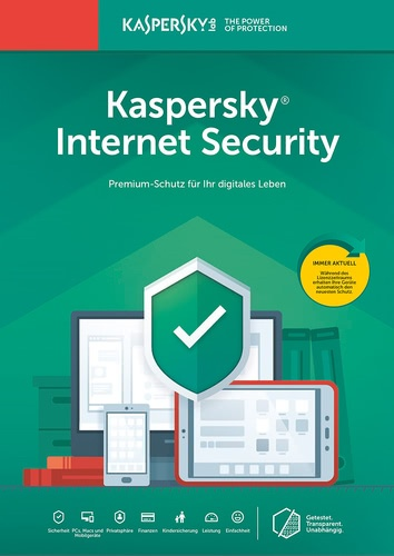 Platz 2 im Internet Security Vergleich Kaspersky Internet Security 2019