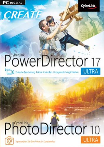 CyberLink PowerDirector 17 Ultra & PhotoDirector 10 Ultra Duo