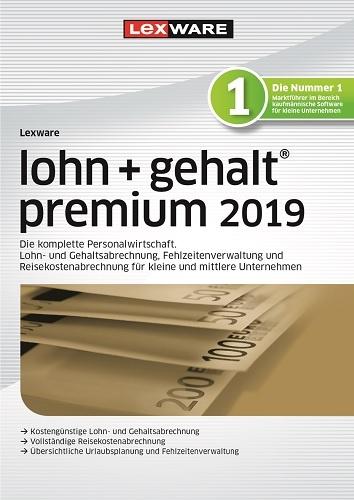 Lexware Lohn und Gehalt 2019 Premium