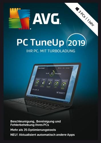 Testsieger im Tuning-Software Vergleich: AVG TuneUp 2019