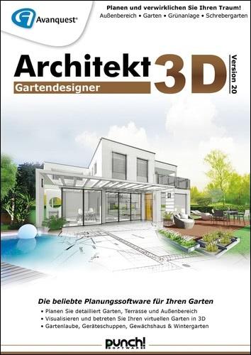 Avanquest Architekt 3D 20 Gartendesigner