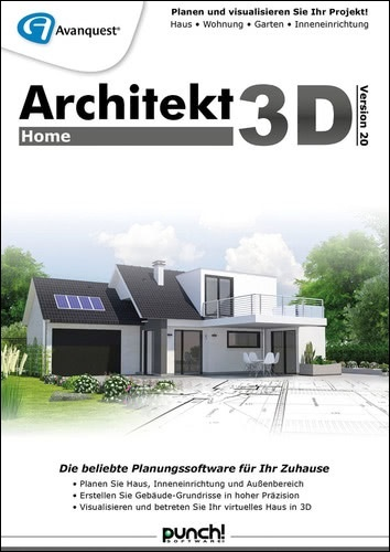Avanquest Architekt 3D 20 Home