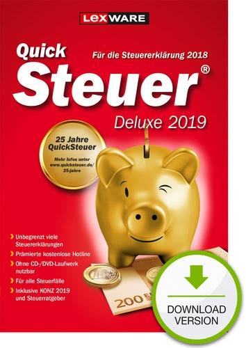 Lexware QuickSteuer Deluxe 2019
