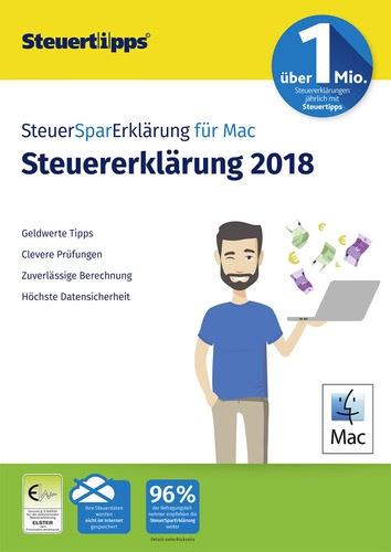 SteuerSparErklärung Mac 2019