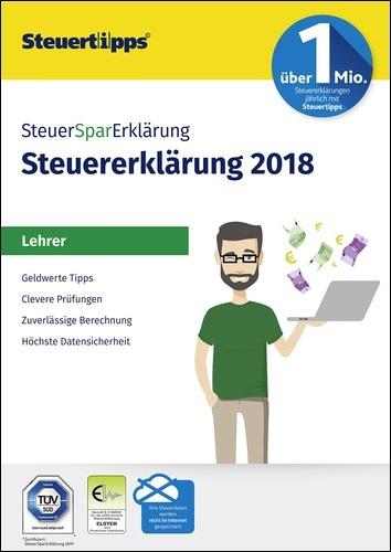 SteuerSparErklärung für Lehrer 2019