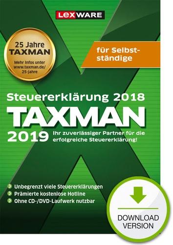 TAXMAN 2019 für Selbstständige