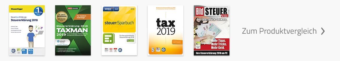 Steuer selber machen | Zum Produktvergleich
