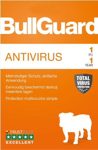 Platz 4 im Antivirenprogramm Vergleich: BullGuard Antivirus