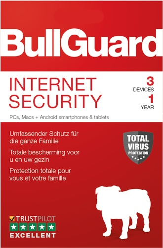 Testsieger im Internet Security Vergleich BullGuard Internet Security