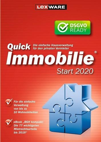 Lexware QuickImmobilie start 2020