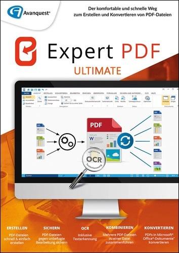 Platz 3 im PDF Software Vergleich: Avanquest PDF Expert 14 Ultimate