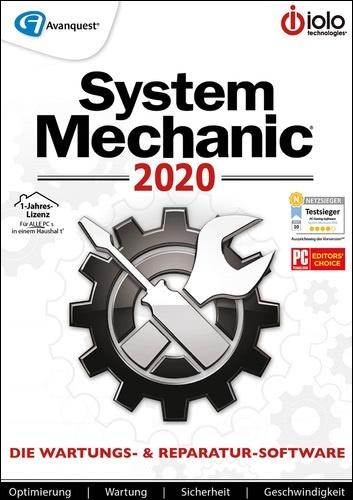 System Mechanic 2020