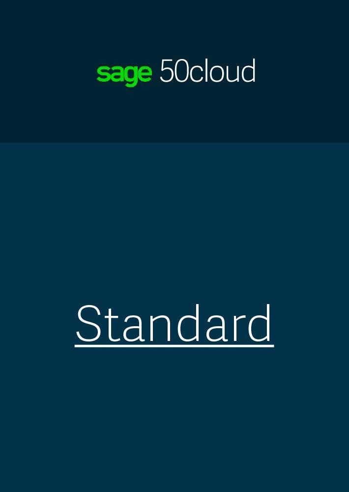 Sage 50cloud Standard