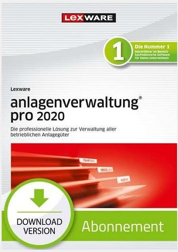 Lexware anlagenverwaltung pro 2020 Abo