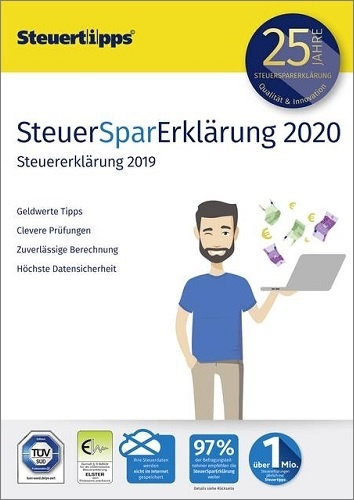Testsieger im im Steuersoftware Vergleich 2020: SteuerSparErklärung 2020