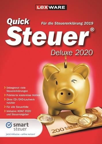Lexware QuickSteuer 2020 Deluxe (für Steuerjahr 2019)