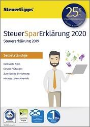 SteuerSparErklärung Selbstständige 2020