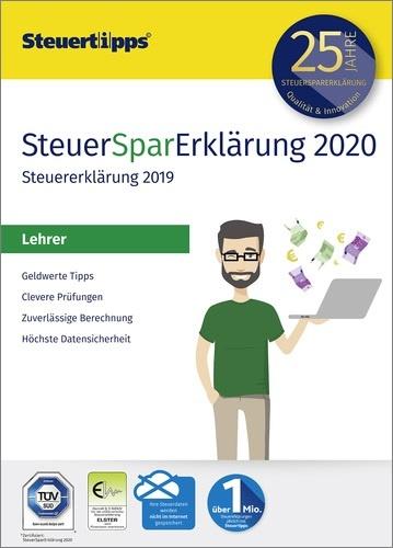 SteuerSparErklärung für Lehrer 2020 (für Steuerjahr 2019)
