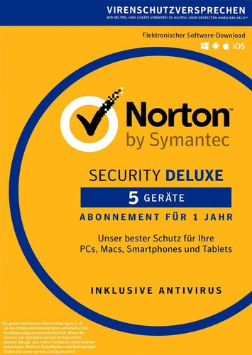 Symantec Norton Security 3.0 Deluxe