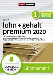 Lexware Lohn und Gehalt Premium 2020