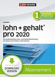 Lexware Lohn und Gehalt Pro 2020