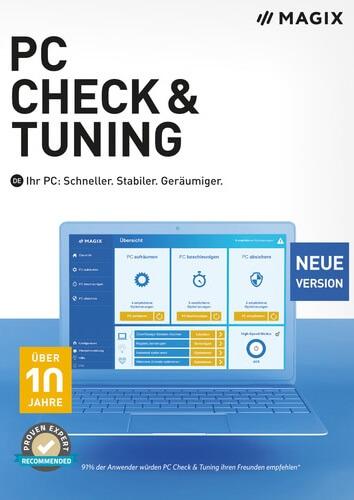 Platz 4: Magix PC Check & Tuning 2021