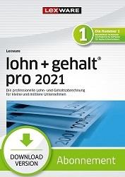 Lexware Lohn und Gehalt Pro 2021