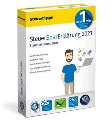 SteuerSparErklärung 2021 (für Steuerjahr 2020)