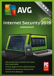 AVG Internet Security - Unbegrenzte Geräte / 1 Jahr