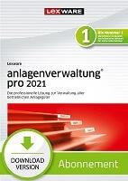 Lexware anlagenverwaltung pro 2021 Abo Download