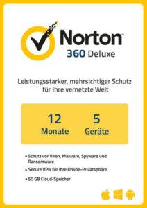 Platz 4: NortonLifeLock Norton 360 Deluxe